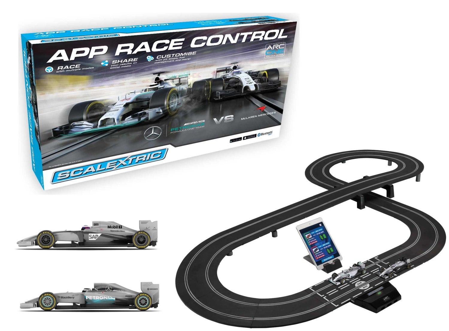 scalextric 6 car powerbase instructions