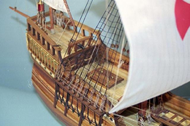 Mantua Santa Maria 1 50 Scale Wood Kit Flagship Of The Columbus Fleet 1492