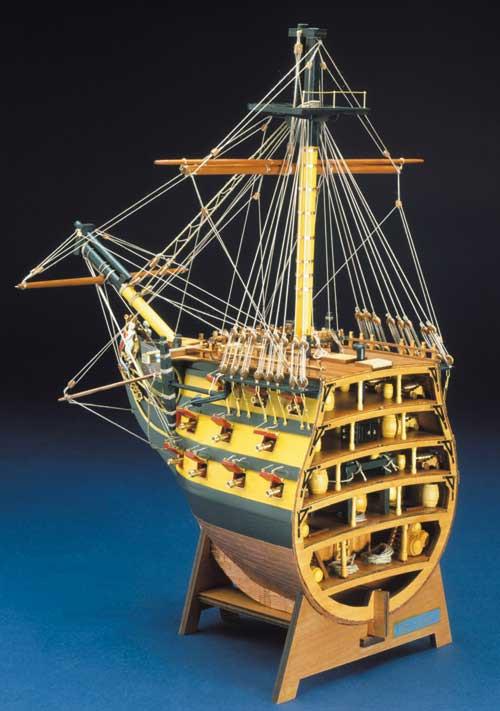 Sports Bikes For Sale >> Mantua Panart HMS Victory Bow Section Wooden Ship Kit 1:78 ...