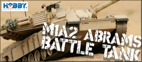 Large Scale M1A2 Abrams Tank