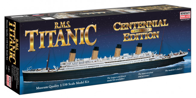 Minicraft RMS Titanic Centennial Edition 1:350 Scale Museum Quality Plastic Kit