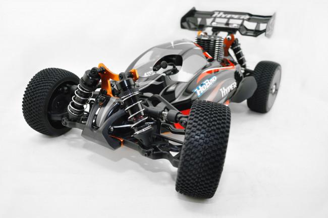 HoBao Hyper SS 1/8 Nitro Buggy RTR, 6-Port Mach 28 Engine, 2.4GHz Radio