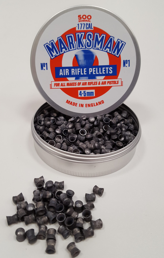Marksman 177 Domed Air Gun Rifle And Pistol Lead Pellets
