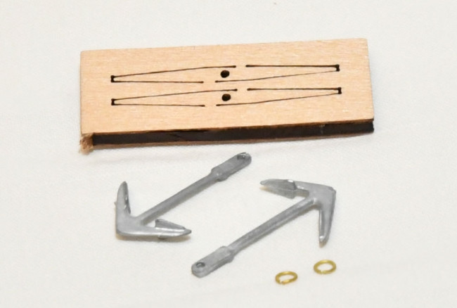 Anchor Kit for 1:200 Scale Mantua HMS Victory Wooden Period Ship
