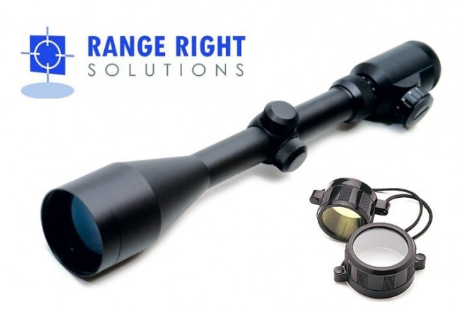 4-16x50 Red/Green Illuminated Reticle Telescopic Rifle Scope - Range Right Solutions
