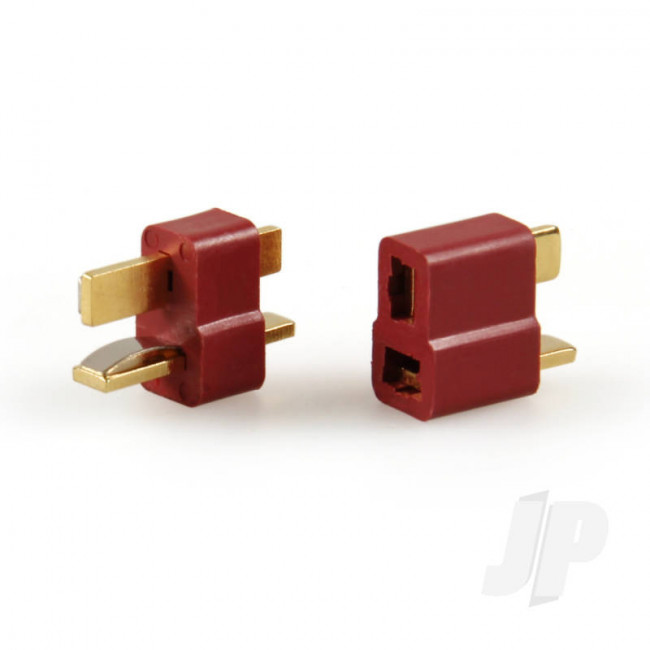 JP T-Style Polarized Connector (5 Pairs) for RC Models