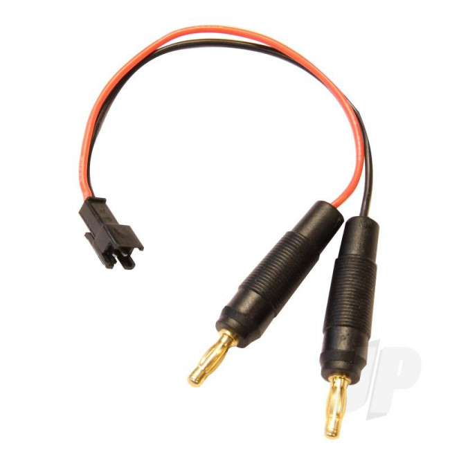 JP Charge Lead (SM 2 Pin Male to 4mm Bullets) for Thunder Storm RC Model Car