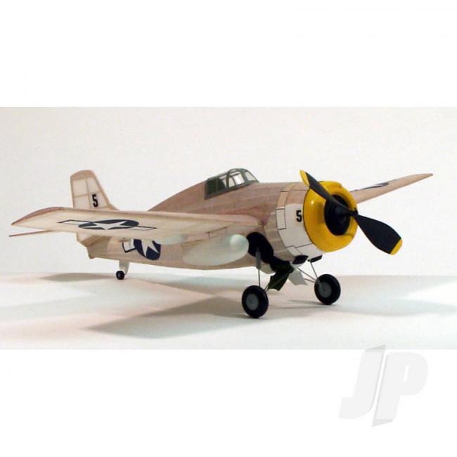 Dumas F-4F Wildcat (44.5cm) (207) Balsa Aircraft Kit