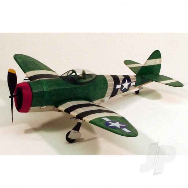 Dumas P-47 Thunderbolt (44.5cm) (217) Balsa Aircraft Kit