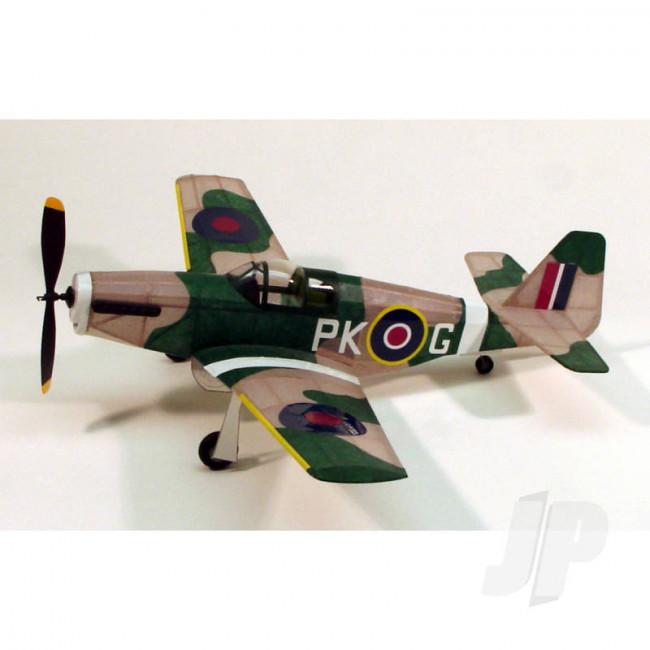 Dumas P-51B Mustang (44.5cm) (218) Balsa Aircraft Kit