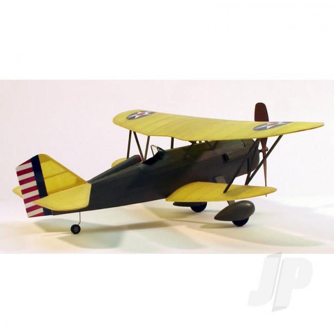 Dumas Curtiss P-6E Hawk (44.5cm) (219) Balsa Aircraft Kit