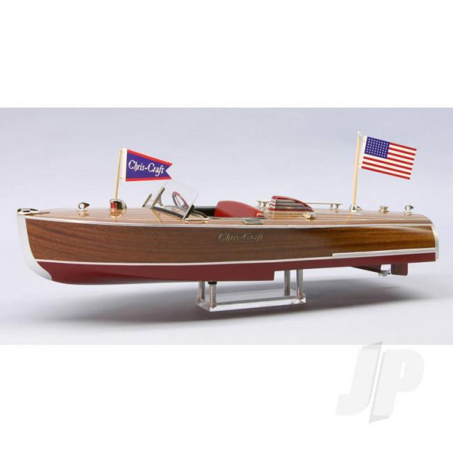 Dumas Chris-Craft 16ft Hydroplane 1941 24ins (1254) Wooden Ship Kit