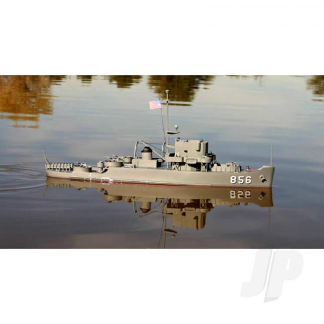 Dumas U.S.S. Whitehall Patrol Craft (1252) Wooden Ship Kit