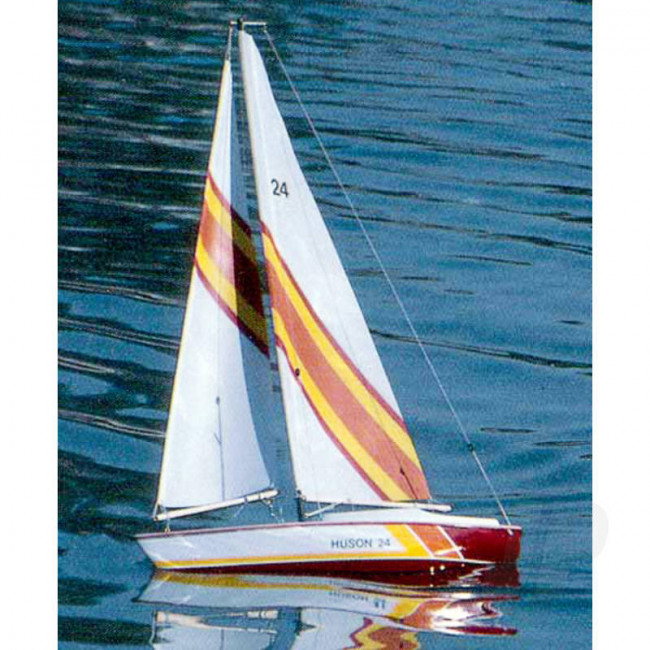 Dumas Huson 24 Sailboat (1117) Wooden Ship Kit
