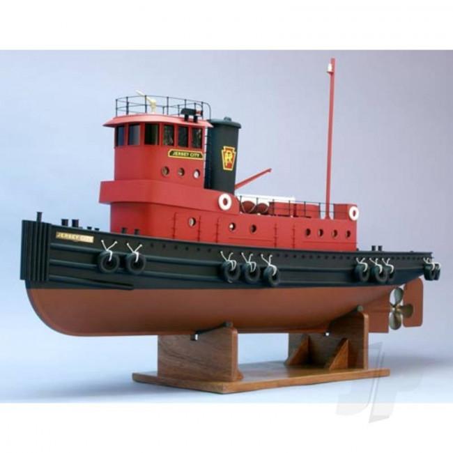 Dumas Jersey City 1960's Tug Boat (1248) RC Model Ship Kit