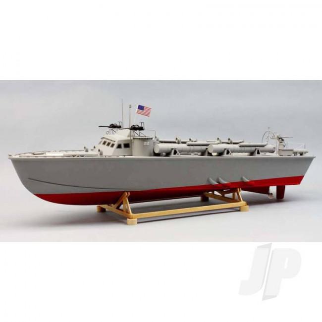 Dumas PT-212 78ft Higgins MTB (1257) Wooden Ship Kit