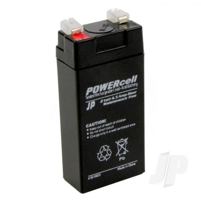 JP 2V 4.5Ah Powercell Gel Battery for RC Model