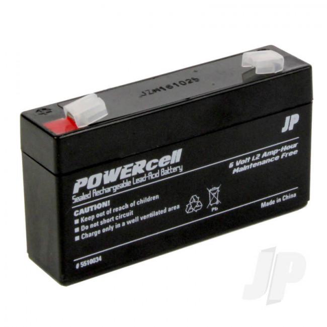 JP 6V 1.2Ah Powercell Gel Battery for RC Model