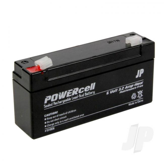 JP 6V 3.2Ah Powercell Gel Battery for RC Model