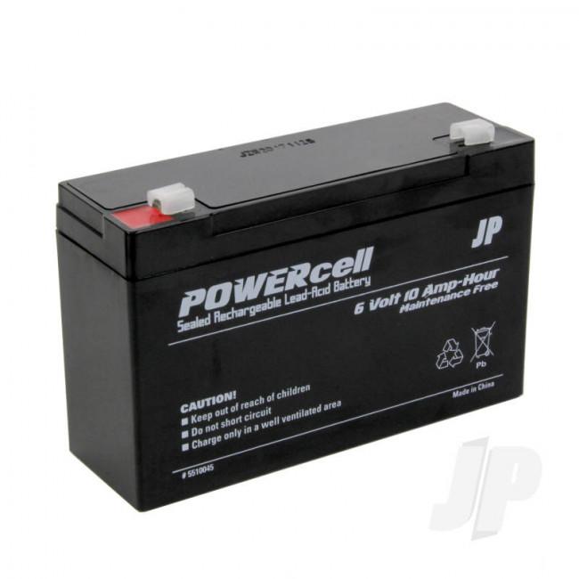 JP 6V 10Ah Powercell Gel Battery for RC Model