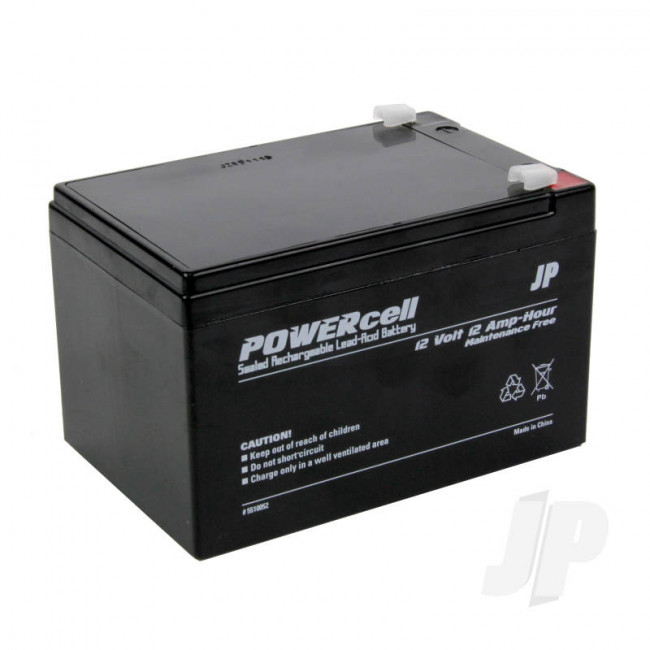 JP 12V 12Ah Powercell Gel Battery for RC Model
