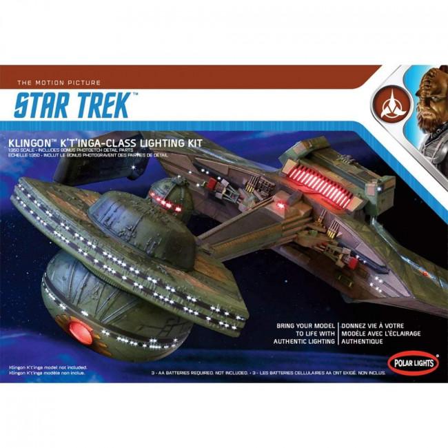 Polar Lights 1:350 Star Trek Klingon K't'inga Lighting Kit
