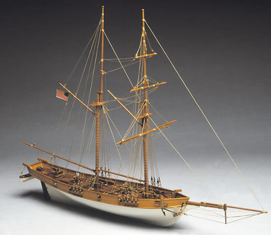 Mantua Albatros 1800 S Baltimore Clipper 1 40 Scale Wood