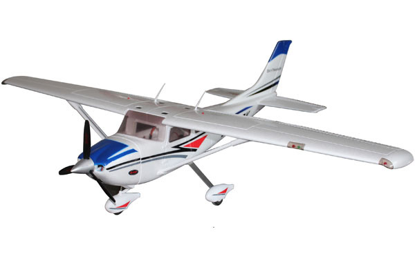 Dynam Cessna 182 Trainer 1280mm RTF with Gyro & Auto Recovery System