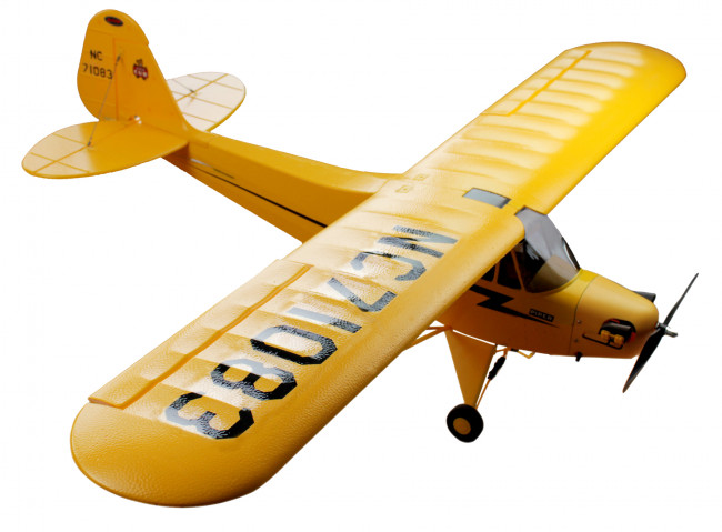 Dynam J3 Piper Cub 1245mm RTF with Gyro & Auto Recovery System