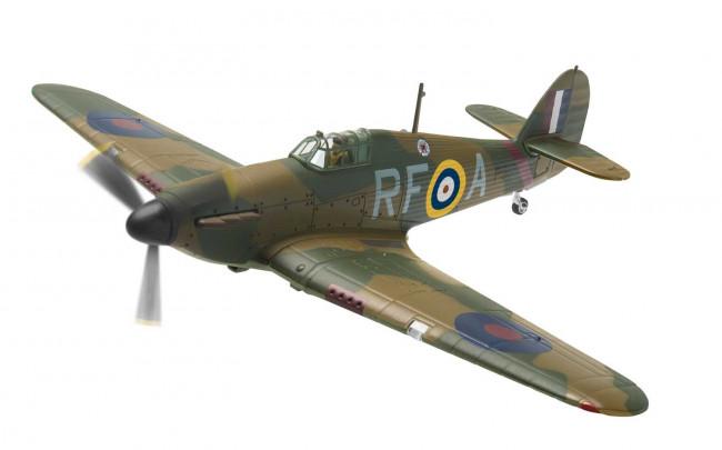 Hawker Hurricane MkI, P3120, 303 Polish Sqdn, Northolt 1940 Corgi AA27602 1:72