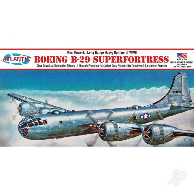 Atlantis Models 1:120 Boeing B-29 Superfortress Plastic Model Aircraft Kit