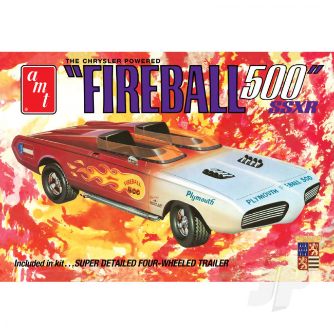 AMT 1:25 George Barris Fireball 500 (Commemorative Package) Plastic Car Kit