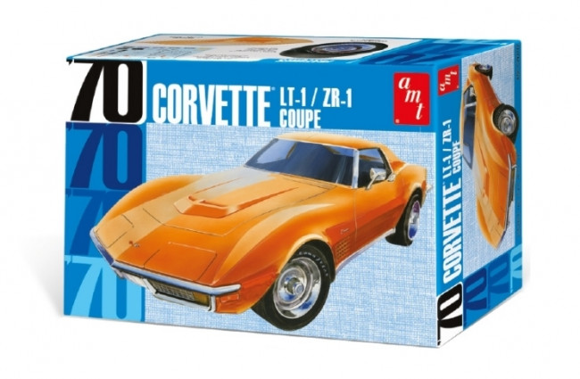 1970 Chevrolet Corvette LT-1/ZR-1 Coupe - Highly Detailed 1:25 Scale AMT Plastic Kit