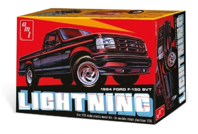 1994 Ford F-150 SVT Lightning Pickup 1:25 Scale AMT Highly Detailed Plastic Kit
