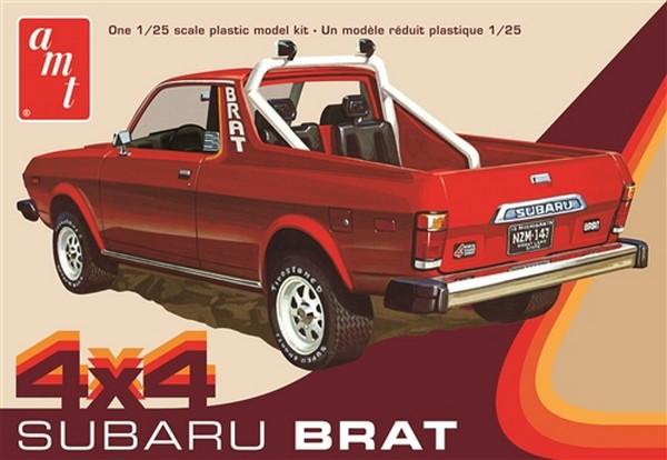 AMT 1:25 1978 Subaru Brat Pickup 2T Plastic Kit Car Truck Model