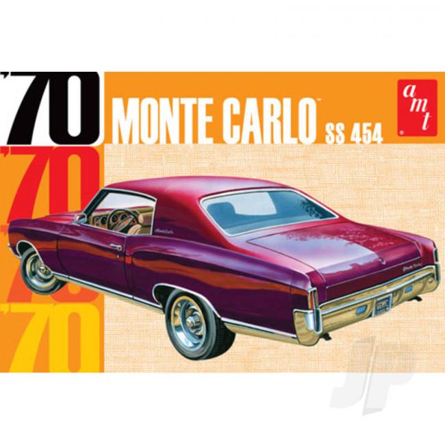 AMT 1:25 1970 Chevy Monte Carlo Car Plastic Kit