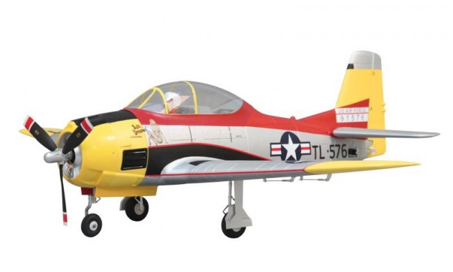 T-28 Trojan 1100mm PNP with Retracts - Arrows Hobby RC Scale Trainer Aircraft