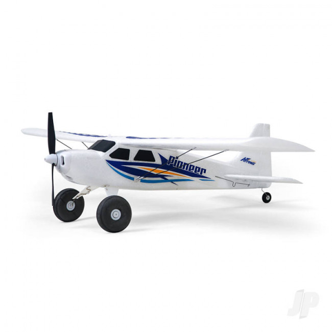 Arrows Hobby Pioneer RTF (630mm) RC Model Aeroplane Trainer w/Stability Gyro