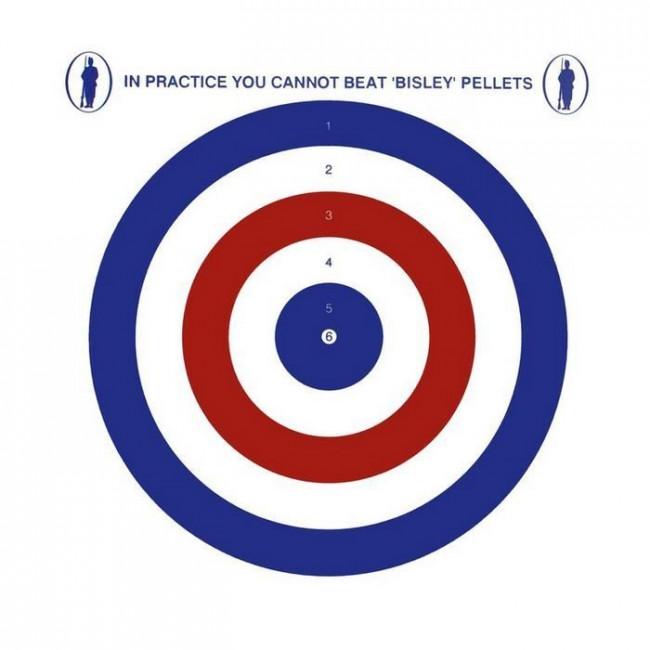"Bisley 17cm (6.75"") Grade 1 Coloured Shooting Targets - Pack of 100"
