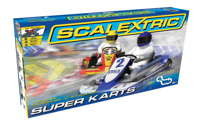 Scalextric Super Karts Racing Set C1334