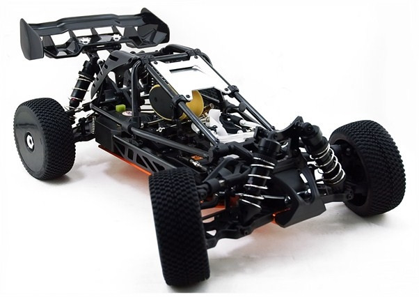 HoBao Hyper Cage Buggy RTR Nitro 1/8th Racing Buggy - Black