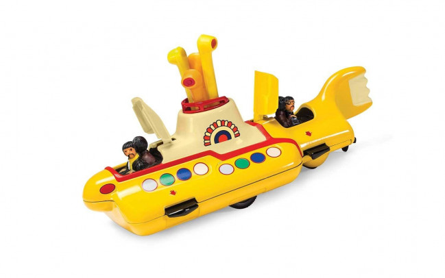 The Beatles Yellow Submarine 50th Anniversary Corgi Diecast Metal Model