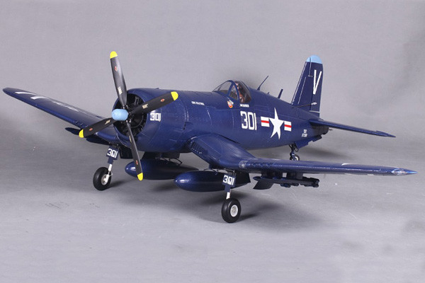 fms f4u corsair v3 1400 series artf warbird with retract landing