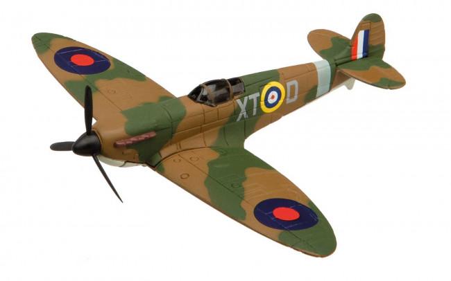 Supermarine Spitfire Diecast Model Aeroplane Corgi Aviation Showcase CS90650