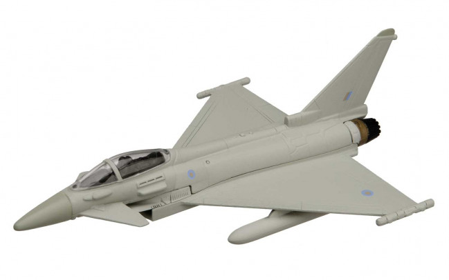 Eurofighter Typhoon Diecast Model Aeroplane Corgi Aviation Showcase