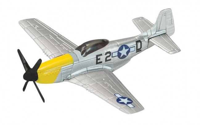P-51 Mustang WW2 Fighter - Diecast Model Plane Corgi Showcase CS90627