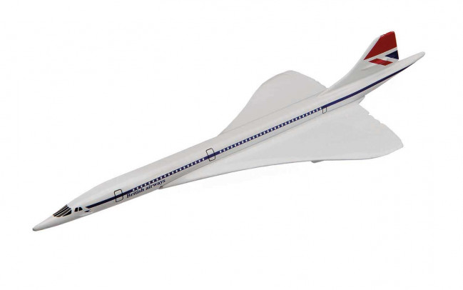 Concorde British Airways Flying Aces Metal Diecast Aeroplane Corgi Aviation