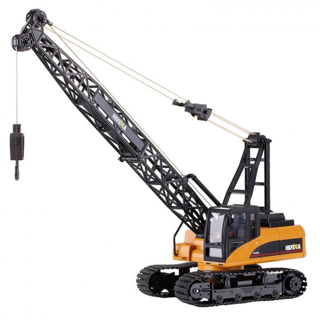 Large 1/14th Scale 15 Channel RC Crawler Crane, Lights & Sound