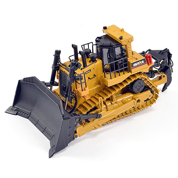 Huina 1/50 Diecast Bulldozer Earthmover Static Model Construction Vehicle