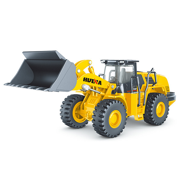 Huina 1/50 Diecast Wheel Loader Static Model Construction Vehicle